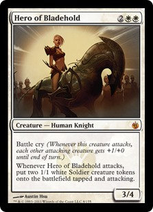 Hero of Bladehold (Mirrodin Besieged)