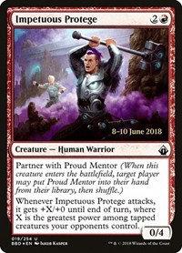 Impetuous Protege (Prerelease Foil / BattleBond)
