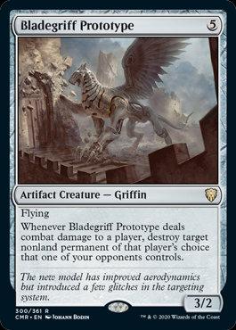 Bladegriff Prototype (Foil / Commander Legends)