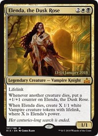 Elenda, the Dusk Rose (Prerelease Foil /Rivals of Ixalan)