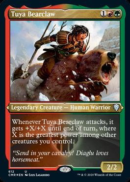 Tuya Bearclaw (Etched Foil / Commander Legends)