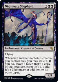 Nightmare Shepherd ( Prerelease Foil / Theros Beyond Death)