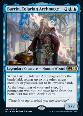 Barrin, Tolarian Archmage (CoreSet 2021)