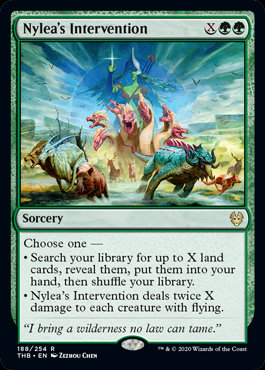 Nylea's Intervention (Foil / Theros Beyond Death)
