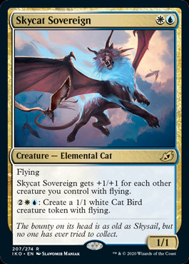 Skycat Sovereign (Foil / Ikoria - Lair of Behemoths)