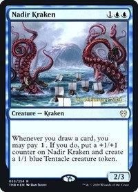 Nadir Kraken (Prerelease Foil / Theros Beyond Death)