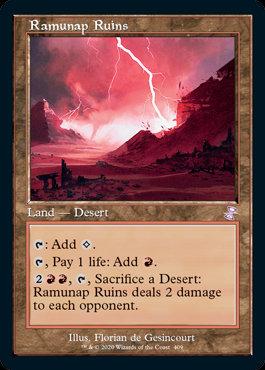 Ramunap Ruins (Foil / Time Spiral Remastered)