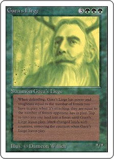 Gaea's Liege (Unlimited)
