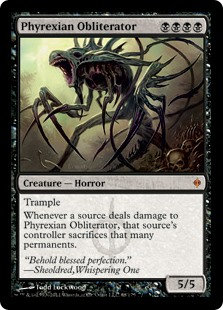 Phyrexian Obliterator (New Phyrexia - Chinese)