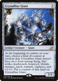 Crystalline Giant (Foil / Stamped / Ikoria - Lair of Behemoths)