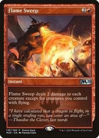 Flame Sweep (Foil / Alt Art / CoreSet 2020)