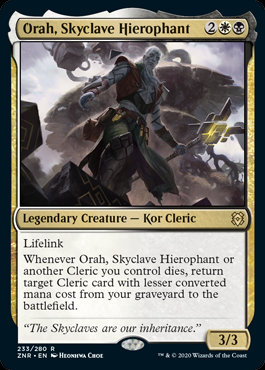 Orah, Skyclave Hierophant (Zendikar Rising)