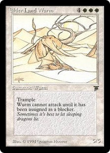 Elder Land Wurm (Legends)