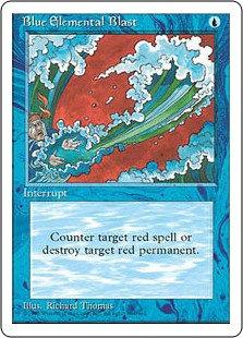 Blue Elemental Blast (Chinese / FBB)