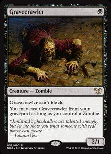 Gravecrawler (Duel Decks - Blessed vs Cursed)