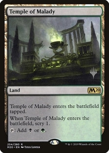 Temple of Malady (Stamped / CoreSet 2021 - Japanese)