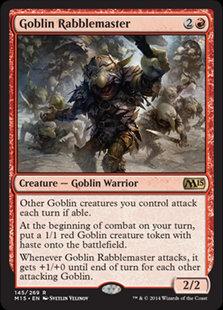 Goblin Rabblemaster (CoreSet 2015)