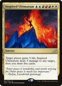 Inspired Ultimatum (Stamped / Ikoria - Lair of Behemoths)