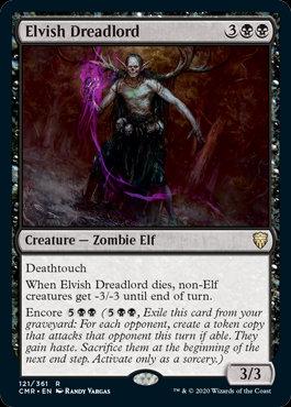 Elvish Dreadlord (Commander Legends)