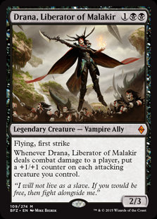 Drana, Liberator of Malakir (Foil / Battle for Zendikar)