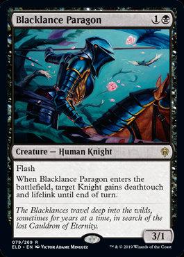 Blacklance Paragon (Foil / Throne of Eldraine)