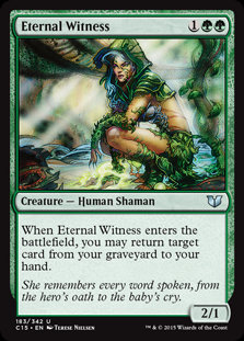 Eternal Witness (Commander 2015)