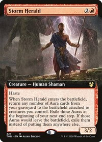 Storm Herald (Ext Art / Theros Beyond Death)