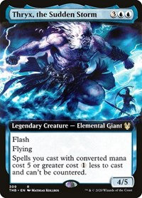 Thryx, the Sudden Storm (Ext Art / Theros Beyond Death)