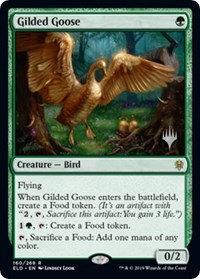 Gilded Goose (Stamped / Throne of Eldraine)