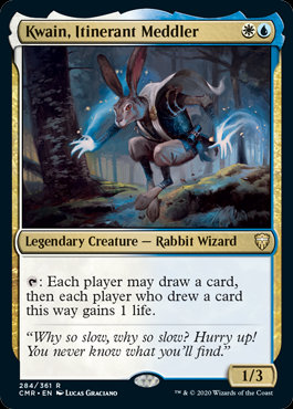 Kwain, Itinerant Meddler (Foil / Commander Legends)