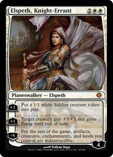 copy of Elspeth, Knight Errant (Shards of Alara)