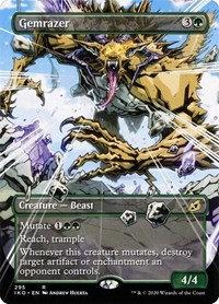 Gemrazer (Alt Art / Ikoria - Lair of Behemoths)