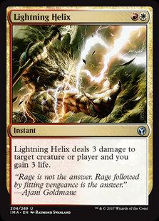 Lightning Helix (Foil / Iconic Masters)