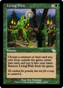 Living Wish (Foil / Judgement)