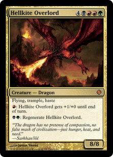Hellkite Overlord (Foil / Shards of Alara)