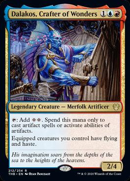 Dalakos, Crafter of Wonders (Theros Beyond Death)