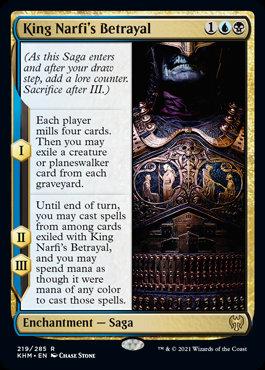 King Narfi's Betrayal (Kaldheim)