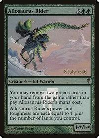 Allosaurus Rider (Prerelease Foil / Coldsnap)