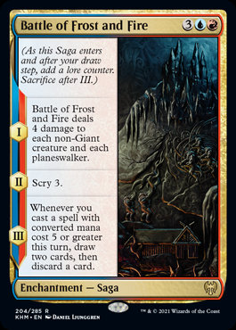 Battle of Frost and Fire (Foil / Kaldheim)