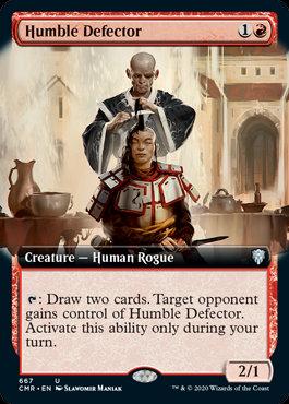 Humble Defector (Ext Art / Commander Legends)