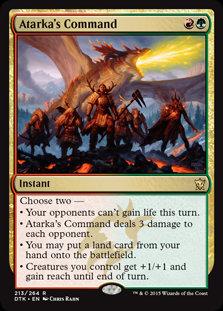 Atarka's Command (Foil / Dragons of Tarkir)