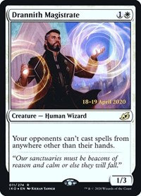 Drannith Magistrate (Prerelease Foil / Ikoria - Lair of Behemoths)