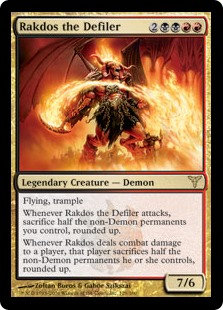 Rakdos the Defiler (Foil / Dissension)