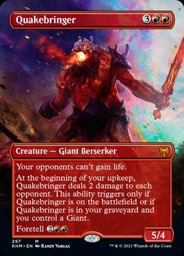 Quakebringer(Foil / Alt Art / Kaldheim)