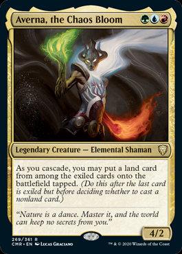 Averna, the Chaos Bloom (Commander Legends)