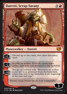 Daretti, Scrap Savant (Commander 2014)