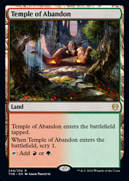 Temple of Abandon (Theros Beyond Death)