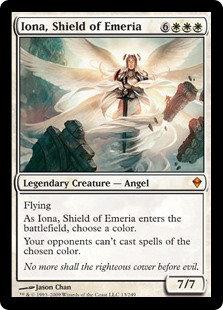 Iona, Shield of Emeria (Zendikar)
