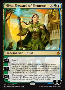 Nissa, Steward of Elements (Amonkhet)
