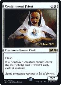 Containment Priest (Prerelease Foil / CoreSet 2021)